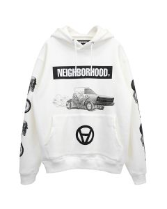 [お問い合わせ商品] NEIGHBORHOOD x Kostas Seremetis NHKS/C-HOODED.LS / WHITE
