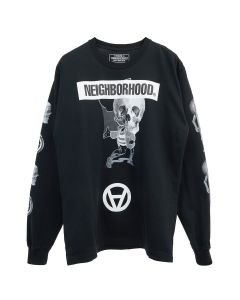 [お問い合わせ商品] NEIGHBORHOOD x Kostas Seremetis NHKS/C-TEE.LS / BLACK
