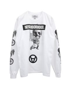 [お問い合わせ商品] NEIGHBORHOOD x Kostas Seremetis NHKS/C-TEE.LS / WHITE