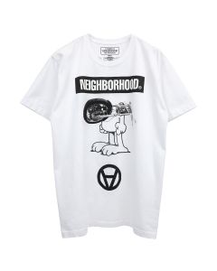 [お問い合わせ商品] NEIGHBORHOOD x Kostas Seremetis NHKS/C-TEE.SS / WHITE