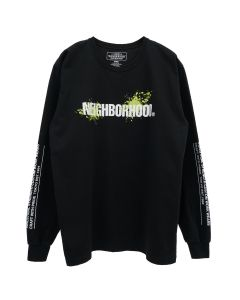 [お問い合わせ商品] NEIGHBORHOOD REIGN/C-TEE.LS / BLACK