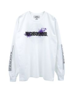 [お問い合わせ商品] NEIGHBORHOOD REIGN/C-TEE.LS / WHITE