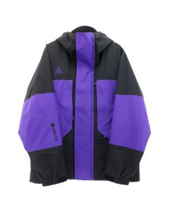NIKE NRG ACG HOODY JACKET GORETEX / 010 : BLACK/COURT PURPLE