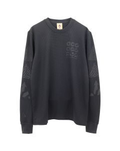 NIKE NRG ACG L/S KNIT TOP / 010 : BLACK