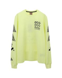 NIKE NRG ACG L/S KNIT TOP / 335 : LUMINOUS GREEN