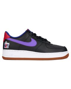 NIKE AIR FORCE 1 '07 LE / 084 : BLACK/PSYCHIC PURPLE