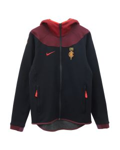 NIKE x CLOT NRG GE HOODIE / 010 : BLACK/UNIVERSITY RED