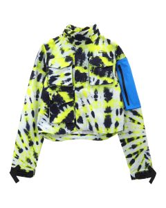 NIKE x OFF-WHITE WMNS NRG AS JACKET #27 AOP / 702 : VOLT