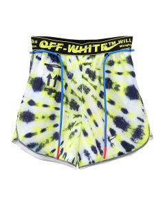 NIKE x OFF-WHITE WMNS NRG AS SHORT #23 AOP / 702 : VOLT