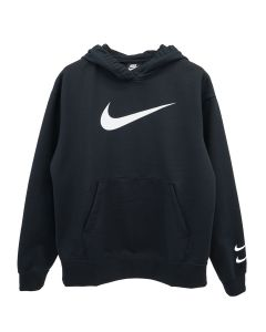 NIKE WMNS SWOOSH FRENCHTERRY HOODY / 010 : BLACK/(WHITE)