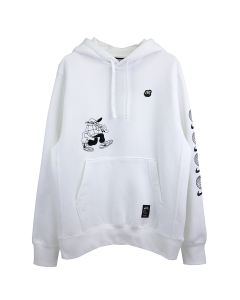 NIKE BB FLEECE SEASONAL PULLOVER HOODY / 100 : WHITE