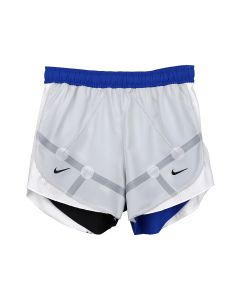 NIKE WMNS NRG ISPA TEMPO SHORT / 078 : GREY FOG/GAME ROYAL(BLACK)