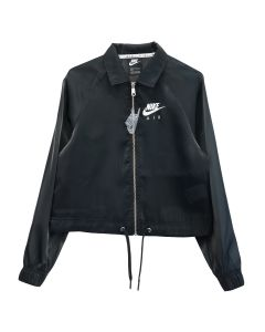 NIKE WMNS AIR SHEEN JACKET / 010:BLACK (WHITE)