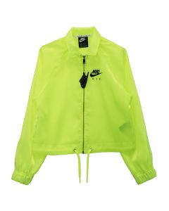 NIKE WMNS AIR SHEEN JACKET / 702:VOLT (BLACK)