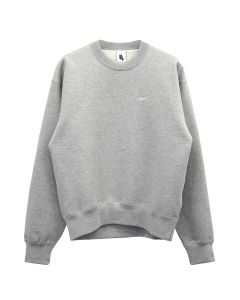NIKE NRG FLEECE CREW / 050 : GREY HEATHER