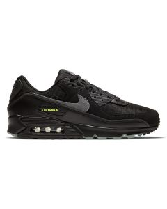 NIKE AIR MAX 90 / 001 : BLACK/SMOKE GREY-LIMELIGHT