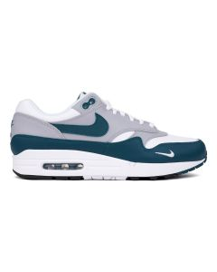 NIKE AIR MAX 1 LV8 / 101 : WHITE/DARK TEAL GREEN