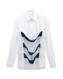 NAMACHEKO MOCK SHIRT / 1000 : WHITE
