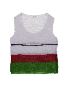NAMACHEKO PAAYO SLEEVELESS / LILAC-GREEN