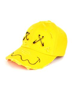 99%IS- SMILE CAP / YELLOW