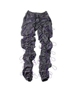 99%IS- GOBCHANG PANTS / GRAY-PURPLE