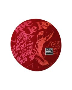 99%IS- SEDITIONARIES PRINT BERET / RED