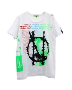 99%IS- SEDITIONARIES PRINT T-SHIRT / WHITE