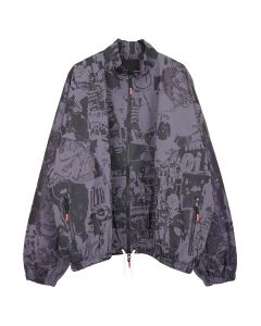 99%IS- COLLAGE JACKET / GRAY