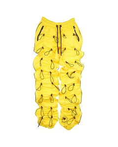 99%IS- GOBCHANG PANTS / YELLOW-BLACK