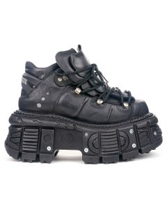 NEW ROCK SHOES M-TANK106-C2 / ITALI NEGRO