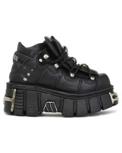 NEW ROCK SHOES M-106-S1 / ITALI NEGRO