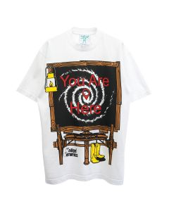 Online Ceramics HITCH YOUR WAGON TO A STAR S/S TEE / WHITE