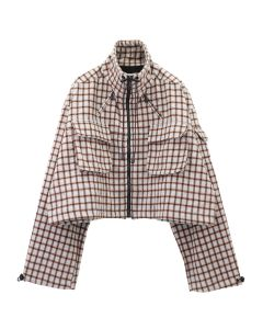 OTTOLINGER CARGO JACKET / CHECK LIGHT