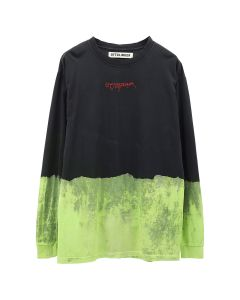 OTTOLINGER LONGSLEEVE EMBROIDERY / BLACK BLEACH
