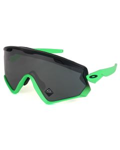 Oakley WIND JACKET 2.0 GLASSES / 015 : MATTE BLACK FADE GREEN