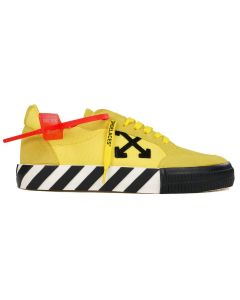 OFF-WHITE c/o Virgil Abloh MENS LOW VULCANIZED / 6010 : YELLOW BLACK