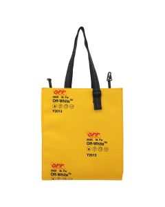 OFF-WHITE c/o Virgil Abloh MENS INDUSTRIAL ORIGAMI TOTE / 6000 : YELLOW NO COLOR