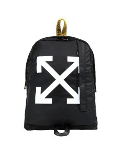 OFF-WHITE c/o Virgil Abloh MENS EASY BACKPACK / 1001 : BLACK WHITE