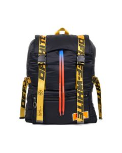 OFF-WHITE c/o Virgil Abloh MENS PUFFY OVERSIZE BACKPACK / 1000 : BLACK NO COLOR
