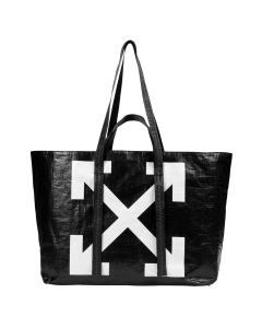 OFF-WHITE c/o Virgil Abloh WOMENS NEW COMMERCIAL TOTE / 1001 : BLACK WHITE