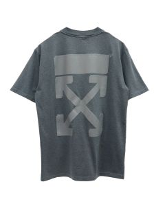 OFF-WHITE c/o Virgil Abloh WOMENS ARROW CASUAL TEE / 0808 : GREY GREY