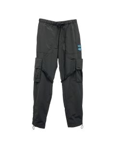 OFF-WHITE c/o Virgil Abloh MENS OFFF NYLON CARGO PANT / 1001 : BLACK WHITE