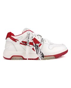 OFF-WHITE c/o Virgil Abloh MENS ooo out of office / 0125 : WHITE RED