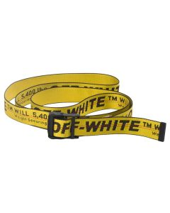 OFF-WHITE c/o Virgil Abloh MENS CLASSIC INDUSTRIAL BELT / 1810 : YELLOW BLACK