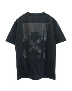 OFF-WHITE c/o Virgil Abloh WOMENS ARROW CASUAL TEE / 1010 : BLACK BLACK
