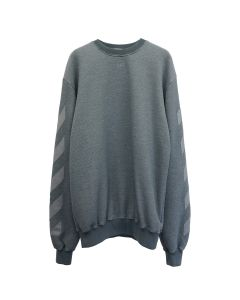 OFF-WHITE c/o Virgil Abloh WOMENS ARROW REG CREWNECK / 0808 : GREY GREY