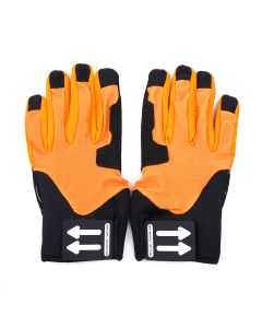 OFF-WHITE c/o Virgil Abloh MENS ACTIVE GLOVES / 1900 : ORANGE NO COLOR