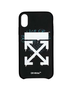 OFF-WHITE c/o Virgil Abloh MENS DRIPPING ARROWS IPHONE XS MAX COVER / 1001 : BLACK WHITE