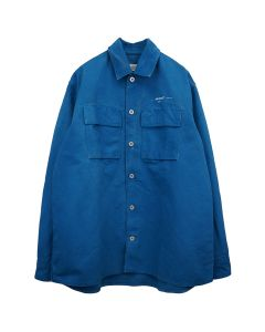 OFF-WHITE c/o Virgil Abloh MENS ARROW OVER DENIM SHIRT / 3002 : BLUE OFF WHITE
