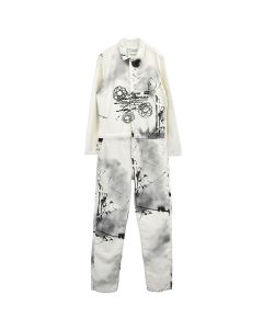 OFF-WHITE c/o Virgil Abloh MENS FUTURA BOILER SUIT / 9988 : ALL OVER MULTICOLOR